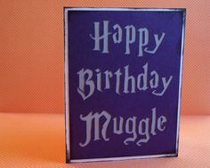 Awesome birthday card! #harrypotter