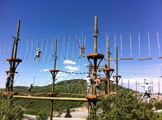 Summer activities at Utah Olympic Park - Pitstops for Kids