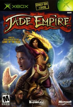 North American Xbox cover art of the video game Jade Empire Ps4, Playstation, Games Box, Old Games, Games To Play, Microsoft, Nintendo 3ds, Xbox One, Jade Empire