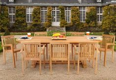 Teak Outdoor Furniture – An All-Natural, Weather-Proof Alternative