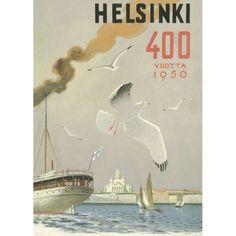 Helsinki - Lokki / Forsström Juliste7