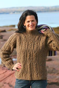 Quoddy Cable Pullover Kit – Cottage Craft