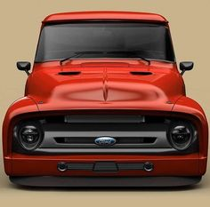 """lowfastfamous: """"Hot Wheels - Damn this Ford concept render via is sweet, thoughts guys? 1956 Ford Truck, Old Ford Trucks, Old Pickup Trucks, Hot Rod Trucks, Cool Trucks, 1956 Ford F100, 4x4 Trucks, Diesel Trucks, Lifted Trucks"""