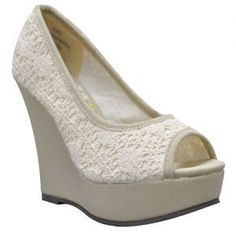 Volatile USA - Comfortable Women's Boots, Clogs, Sandals and Sneakers Wedding Wedges, Wedge Wedding Shoes, Wedding Stuff, Wedding Ideas, World Of Fashion, Clogs, Wedding Planning, Peep Toe, Footwear