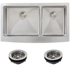 Farmhouse Kitchen Sinks: Combine style and function with a new kitchen sink. Free Shipping on orders over $45!