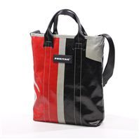 Freitag, made of recycled truck tarps. No two bags are alike / Switzerland