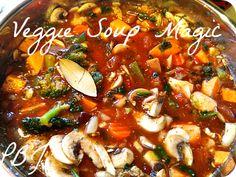 veggie soup in the instant pot