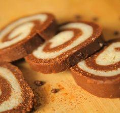 No Bake Swiss Roll / Cookies Chocolate Swiss Roll Recipe, Chocolate Roll Cake, Amazing Chocolate Cake Recipe, Chocolate Recipes, Healthy Desserts, Fun Desserts, Dessert Recipes, Choco Biscuit, Cake Roll Recipes