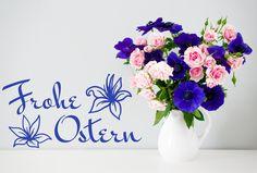 Lilien Schriftzug Ostern