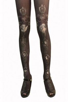 grimoire tights - Un musee de l'art d anges