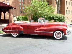 1942 Cadillac Series 62 Convertible Coupe