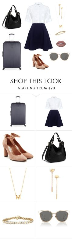 """Untitled #36"" by phff-tumblr on Polyvore featuring Antler, Paul & Joe Sister, L'Autre Chose, Accessorize, Madewell and Christian Dior"