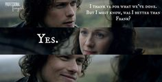 """""""Outlander """"Both Sides Now"""" Recap: Everyone Wants a Piece of Claire"""" Outlander Show, Outlander Funny, Outlander Quotes, Sam Heughan Outlander, Starz Series, Book Series, Series Movies, Jamie And Claire, Book Tv"""