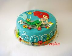 LITTLE MERMAID CAKE  Cake by Dzesikacakescupcakes