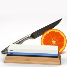 Whetstone Knife Sharpening Stone: Knife Sharpener Set Grits with NonSlip Base Angle Guide Illustrated PDF and Video Instructions Arkansas Honing Stone/Japanese Waterstone -- For more information, visit image link. (This is an affiliate link) Sharpening Stone, Knife Sharpening, How To Sharpen Scissors, Butcher Knife, Fillet Knife, Long Kitchen, Japanese Kitchen, Specialty Knives, Specialty Appliances