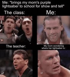 Nice lightsaber - meme - So fuddy Very Funny Memes, Stupid Funny Memes, Funny Relatable Memes, Haha Funny, Hilarious, Tumblr Posts, Funny Images, Funny Pictures, Wrestling Memes