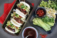 Check out this delicious recipe for Siu Mei Bao from Weber—the world's number one authority in grilling. Steamed Bao Buns, Weber Recipes, Hottest Chilli Sauce, Weber Bbq, Camping Meals, Camping Recipes, Red Food Coloring, Poultry, Yummy Food