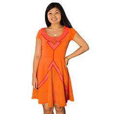 ThinkGeek :: I Am Flame Princess Dress. Great for PlayerCon, but gets some strange looks at the police station.