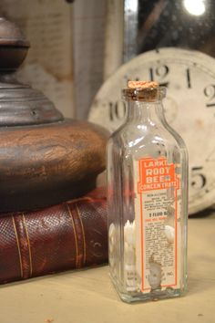 Love the vintage bottle available Sept 19-21, 2014 at www.chartreuseandco.com/tagsale, #vintageadvertising, #vintagebottle,