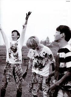"""[210916 160921] [SCAN] [Photobook """"Dear Happiness"""" EXO] #Baekhyun"""