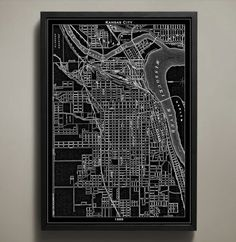Prints of STL and KC next to eachother