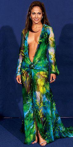 Jennifer Lopez at the Grammy Awards in 2000.