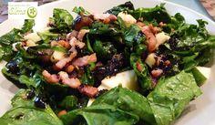 Ensalada de lentejas con vinagreta de curry. http://www.lospostresdeelena.com/2013/07/ensalada-de-lentejas-con-vinagreta-de.html