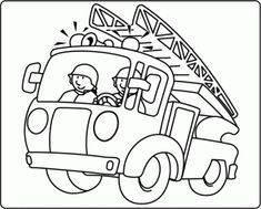 Firefighter coloring pages Popsicle Stick Crafts, Woodland Party, Diy For Kids, Coloring Pages, Colouring, Diy And Crafts, Sonic Dash, Firefighter Birthday, Dinosaur Coloring