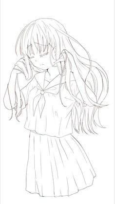 Lineart Anime, Anime Dancer, Manga Poses, Anime Character Drawing, Cute Coloring Pages, Art Drawings Sketches Simple, Art Poses, Drawing Base, Anime Sketch
