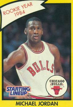 Not a big #basketball fan but I still think this was worth a Repin... Chicago Bulls Rookie Michael Jordan in 1984
