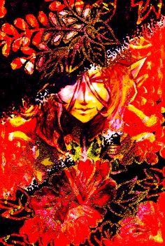 kusuriuri by lotus-Samsara on DeviantArt Anime Fantasy, Fantasy Art, Anime Love, Anime Guys, Horror Tale, Otaku, Flower Prints, Fan Art, Deviantart
