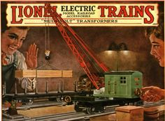 Lionel Trains catalog cover 1928