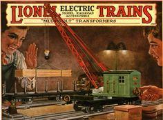 Lionel Trains catalog cover 1928