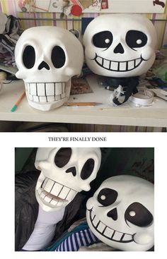 how to make sans and pap masks