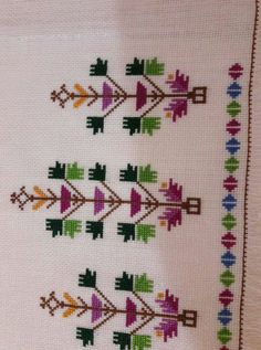 Yapmak istediğim Cross Stitch Art, Cross Stitch Patterns, Hand Embroidery Design Patterns, Crewel Embroidery, Heart Print, Baby Knitting Patterns, Needlework, Diy And Crafts, Bargello