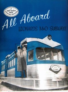 The old Leonard's M Subway. Nothing was more exciting than riding the subway to go shopping at Leonard's - especially at Christmas!