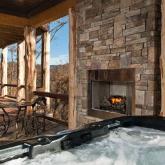 The Sanctuary cabin is ready to pamper you! cherokeemountaincabins.com or call…