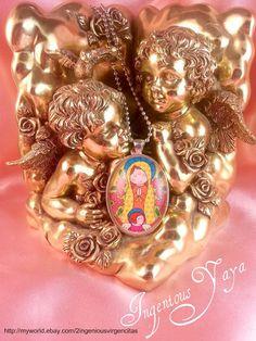 Virgencita Plis Cuidame Catholic Religious Pendant Necklace  http://www.ebay.com/itm/151004638960?ssPageName=STRK:MESELX:IT&_trksid=p3984.m1555.l2649
