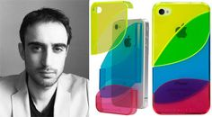 Colorways, a contemporary, three piece, modular iPhone 4 case.