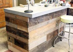 Reclaimed Wood Retail Counter Reclaimed Barn Siding