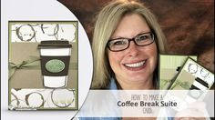 How to make a Starbucks / Coffee Break Latte Card featuring Stampin Up S...