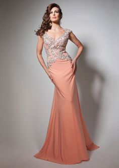 Beautiful Designer Backless Evening Dress with Lace Beading Bodice