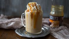 Infuse iced coffee with rum and salted caramel for a cup of joe with even more kick!