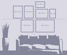 Kuvakollaasi seinällesi. Näin teet tauluistasi näyttäviä kokonaisuuksia erilaisilla asettelumalleilla - http://www.ifolor.fi/inspire_kuvakollaasi_seinallesi