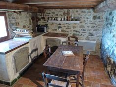 Stone Masonry, Kitchen Interior, Sweet Home, Modern, Diy, House, Home Decor, Farm Cottage, Cottage Chic