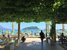 Budva Beachside Cafe, Montenegro
