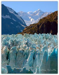 No matter how you tour Glacier Bay National Park* youll come away inspired by nature. Another pinner said: Glacier Bay* Alaska.best way in a smaller cruise ship.and take a helicopter ride and land on glacier.pretty surreal and serene. Places Around The World, Oh The Places You'll Go, Places To Travel, Places To Visit, Alaska Travel, Alaska Cruise, Alaska Usa, Anchorage Alaska, Usa Travel