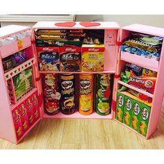 なにこの発想…!「お菓子冷蔵庫」がJKに話題 - NAVER まとめ