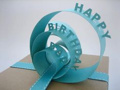 ● Amazing Happy Birthday dad gift wrapper design ● Father birthday card packing ideas ● creative gift wrappers for Dad's happy Bi. Happy Birthday Dad, Birthday Gifts, Diy Birthday, Gift Wrapper Design, Creative Gifts, Cool Gifts, Creative Things, Craft Gifts, Diy Gifts
