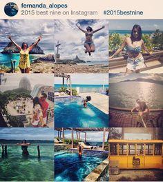 E foi assim ... Por aí ... #IlhaGrande #AngradosReis #Paraty #Natal #FernandodeNoronha #Recife #RiodeJaneiro #2015bestnine by fernanda_alopes